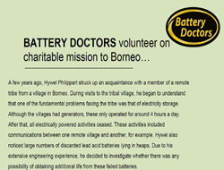Battery Doctors :: PDF File